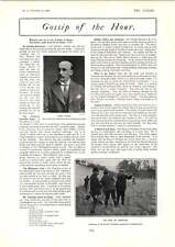 1902 Lord Hawke King Of Portugal Shooting At Rambouillet