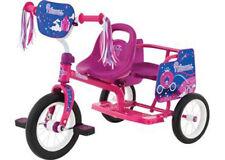 Pink Princess Tandem Trike by Eurotrike.  Girls Pedal Ride On.