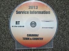 2013 DODGE CARAVAN & CHRYSLER TOWN & COUNTRY Service Shop Repair Manual CD DVD
