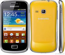 4 Pellicola OPACA per Samsung Galaxy mini 2 II S6500 Protettiva Pellicole MATT