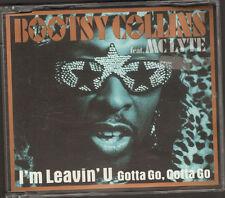 BOOTSY COLLINS 7 track NEW CD SINGLE I'm Leavin' U Gotta Go Gotta Go MC LYTE