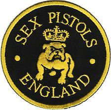 16148 Sex Pistols Bulldog England Punk Rock Band Music Sid Vicious Iron on Patch