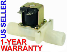 1/2 inch NPS Thread 110V-120V AC Plastic Nylon Solenoid Valve ONE-YEAR WARRANTY