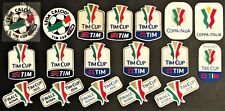 "TOPPE ufficiali varie stagioni ""COPPA ITALIA-TIM CUP"" official patch mix seasons"