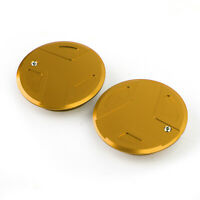 CNC Pair Frame Hole Caps Plugs Fit for BMW R 1200 GS RT / LC / Adventure Gold