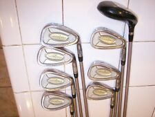 PINSEEKER #4 TO #9 IRONS PW and BOMBSHELL 22* HYBRID