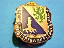 US Military Chemical Corps School DI DUI Pin Crest Medal Badge Clutchback G898