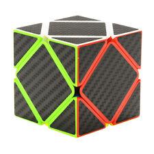 Z-Cube Carbon Fiber Sticker Skewb SpeedCube Puzzle Twist Smooth BrainTeaser Gift