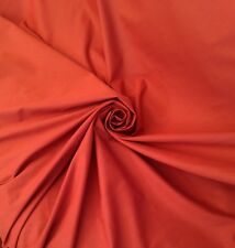13 Metres Terracotta Quality Polycotton Curtain & Craft Fabric