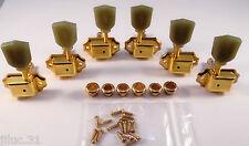 NEW Mécaniques 3x3 VINTAGE gold pour guitare Gibson style, Les paul, SG...