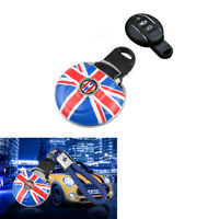 Red Union Jack Car Key Fob Case Cover KeyChain For MINI Cooper F54 F55 F56 F60