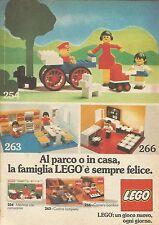 X9335 La famiglia LEGO è sempre felice - Pubblicità 1976 - Advertising