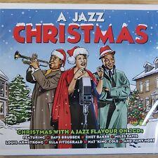 2CD NEW SEALED - A JAZZ CHRISTMAS - Xmas Pop Blues Festive Music 2x CD Album