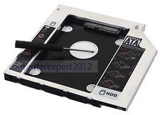 2nd Disco Rigido HDD Caddy per Dell Precision M4600 M6400 M6500 M6600 3300 1340