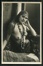 North Africa Youthful NUDE Dancer Prostitute Real Photo 1920s ~ PARIS Latest!