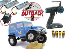 FTX OUTBACK 2 TUNDRA 4X4 RTR 1:10 TRAIL Rock Crawler TRX-4 AXIAL batteries supplémentaires