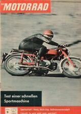 M6109 + MOTOBI Imperiale SS 125 ccm + Das MOTORRAD Nr. 9 vom 29.4.1961
