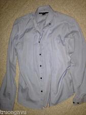 Men Marc Jacobs Blue Button Down Long Sleeve Shirt Small S Rare