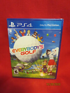 Everybody's Golf PS4 BRAND NEW FACTORY SEALED