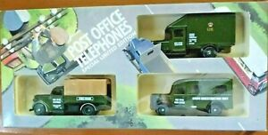 Lledo Post Office Telephones Special Limited Edition Days Gone Diecast Set