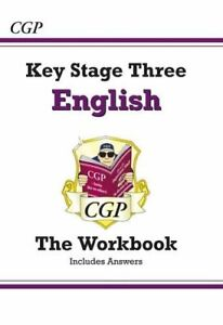 KS3 English Workbook (with answers): superb for catch-... by CGP Books Paperback
