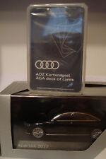 Audi A8 L D5 IAA 2017 Mythosschwarz ,Limitiertes Presse-Sondermodell  1:43
