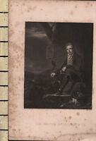 C1815 Antico Stampa ~ Sir Walter Scott