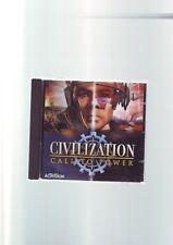 , Civilization: Call to Power-Sid Meier's 1999 PC GAME-ORIGINAL JC Edition Très bon état
