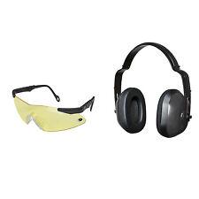 Mossy Oak Pachuta Ear Muff & Glasses Combo - Shooting Protection Combo Set Muffs