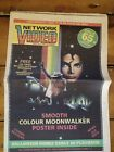 Network Video No. 9 March 29th 1989 Michael Jackson Video Nasties Kevin Godley