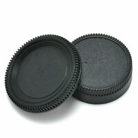 For Nikon AF AF-S Lens DSLR SLR 2 PCS Body Front + Rear Lens Camera Cap Cover