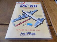 Just Flight DC-6B Legends Of Flight PC-DVD Rom Expansion For MS Flight Sim X