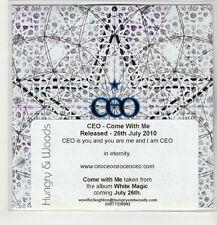 (GS911) Ceo, Come With Me - 2010 DJ CD