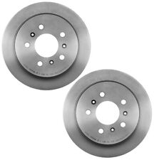 For Buick Chevy Pair Set of 2 Rear Brake Disc Rotors 278x11mm Solid UV Coated