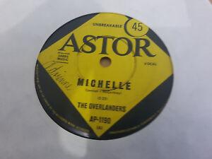 MICHELLE // THE OVERLANDERS UK FOLK OZ PRESS ASTOR 1966