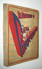Collodi LE AVVENTURE DI PINOCCHIO ill. Scavizzi - Casa Editrice Oderisi 1944