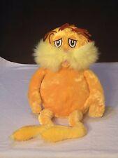 LORAX  Dr.Seuss Plush Stuffed Animal Toy Doll Kohls Cares For Kids  2005