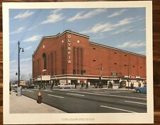 WILLIAM MOSS, MEMORIES OF DETROIT, OLYMPIA STADIUM, SIGNED AND NUMBERED
