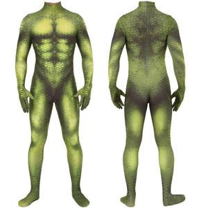 Green Goblin Jumpsuit Norman Osborn Cosplay Costume For Adult & Kids Halloween