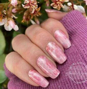 m9GoColorStreet BLUSHING ROSE QUARTZ Nail Strips NEW Set In Stone **+TWOSIE**