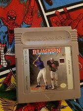 Bo Jackson Two Games In One (Nintendo Game Boy) Game