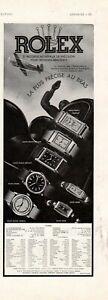 1939 Rolex Oyster Ronde, Reine, Prince elegant, Prince Railway Original ad -