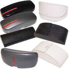 PRADA Authentic Designer Sunglasses Storage Case Black White Grey Magnetic Pouch
