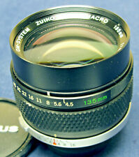 OLYMPUS OM-SYSTEM Zuiko Macro 135mm/F4.5 lens (for Auto Bellows or Auto Tube)