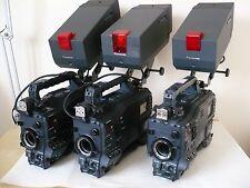 3 Panasonic AJ-SDX900P camcorders + VF53P studio viewfinders + SDI output cards