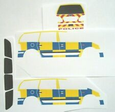 No 138 Ford Galaxy POLICE CAR, 1:43, CODE 3, Waterslide decals