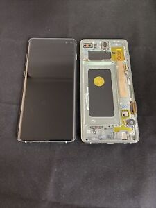 Genuine SAMSUNG GALAXY S10 Plus G975 LCD TOUCH DISPLAY SCREEN - Green-