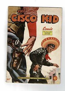 World Distributors Comic The Cisco Kid  Comics  - No. 45 1958 6d