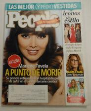 People Spanish Magazine Marlene Favela & Jennifer Lopez September 2012 101714R1