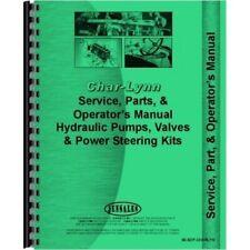 Char Lynn Power Steering Hydraulic Pump Valve Service Parts Amp Operators Manual